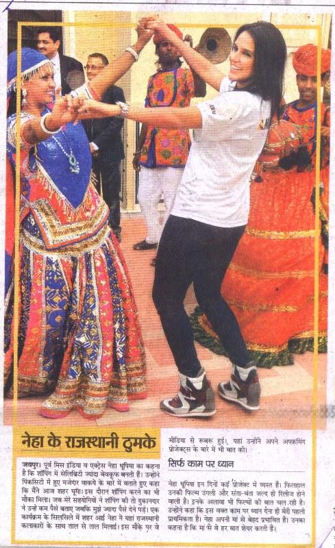 Metro Mix, Jaipur -Neha's Rajasthani Folk Dance